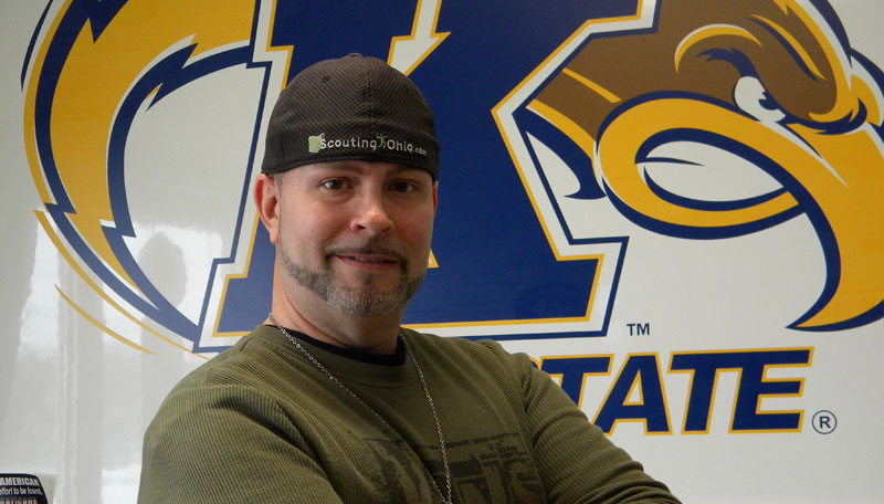 Photo of Owner and Barber Klay Frazier